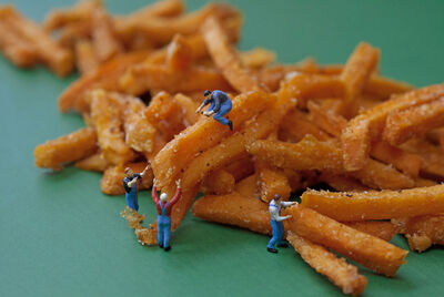 Christopher Boffoli, 'Frite Thieves', 2013