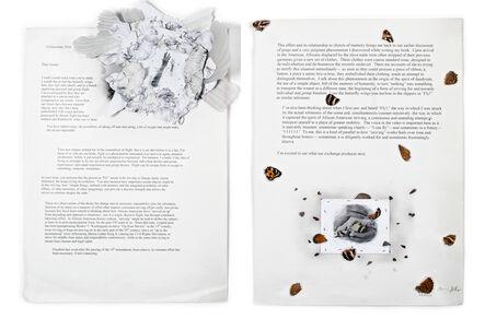 Joanne Grune-Yanoff, 'December Letter, MLM-JGY', 2014