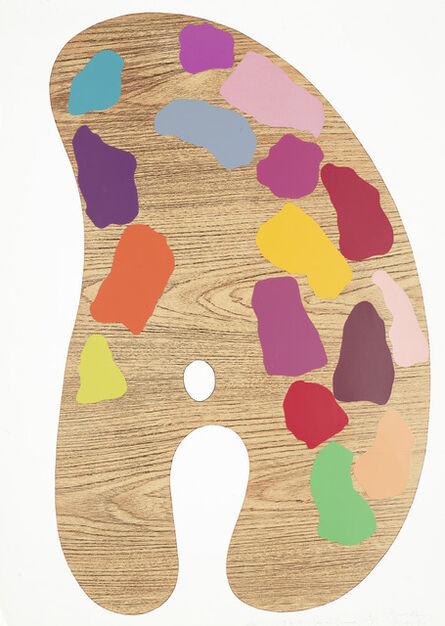 Jim Dine, 'Palette II (Galerie Mikro 57)', 1969
