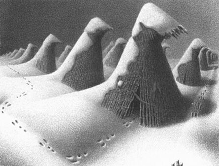 Grant Wood, 'January', 1938