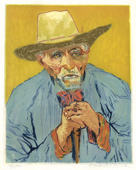 Jacques Villon, 'Van Gogh, Le Paysan', 1927