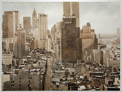 Philip Pearlstein, 'View Over Soho Manhattan', 1978