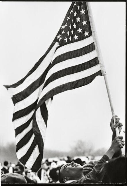 Steve Schapiro, 'Flag, The Selma March', 1965