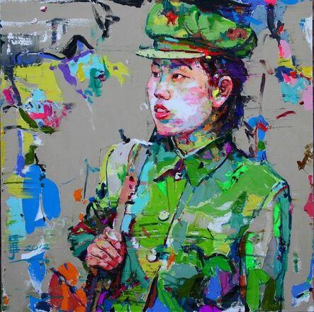 Ren Zhenyu, '是我的想象(12)', 2012