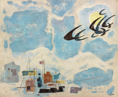 Emil Bisttram, 'After the Blizzard', 1956