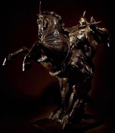 Ren Zhe 任哲, 'Try a Sword on a Horse 驰馬拭劍', 2008
