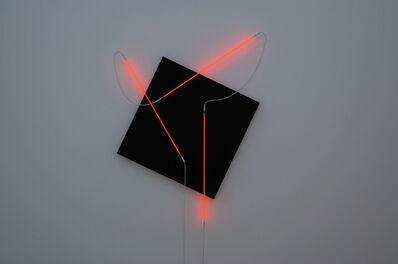 François Morellet, 'Néons 3D : 60°-90°-35°', 2014