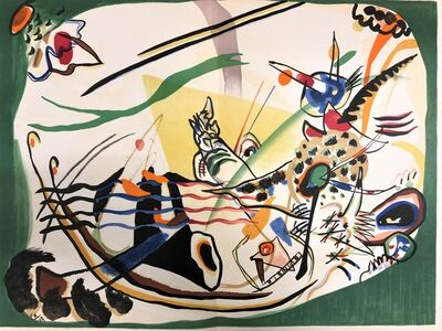 Wassily Kandinsky, 'Le bord vert', 1957