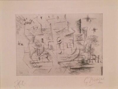 Georges Braque, 'Nature morte sur une table (Paris)', 1910-11