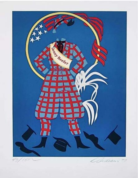 Robert Indiana, 'Jenny Reefer (Virgil Thomson, Mother of Us All Suite)', 1977