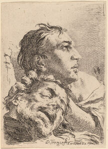Paul Troger, 'David with the Head of Goliath', 1720s