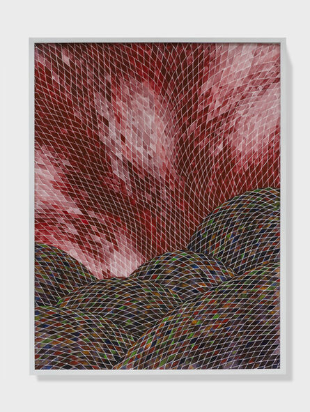 Timothy Hyunsoo Lee, 'Plein air painting of a hellscape II', 2018