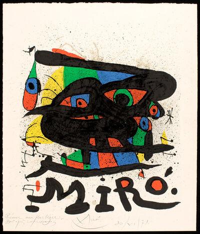 Joan Miró, 'Untitled', 1971
