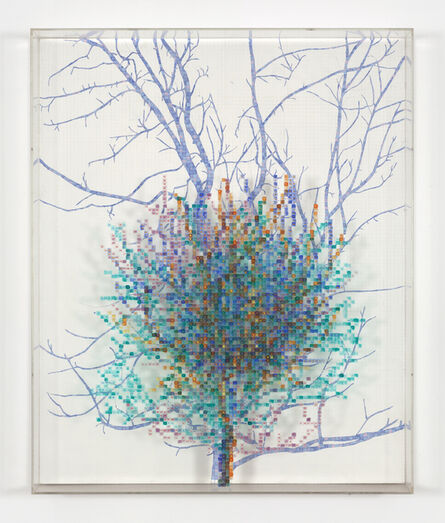 Charles Gaines, 'Numbers and Trees II, Spike #4', 1987