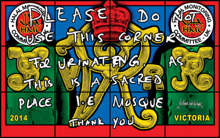 Gilbert and George, 'VICTORIA', 2014