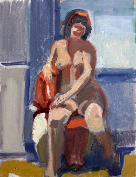 John Goodrich, 'Model with Red Ribbon', 2018