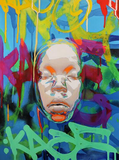 Kip Omolade, 'Luxury Graffiti Kent I', 2020