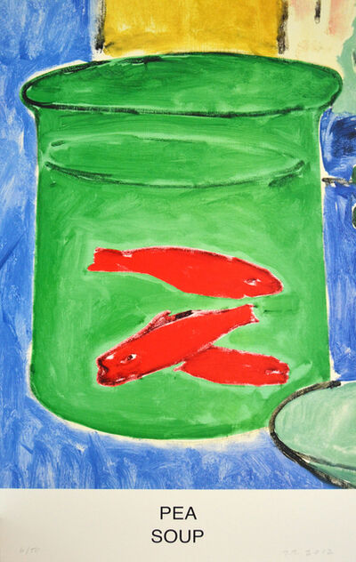 John Baldessari, 'Pea Soup', 2012