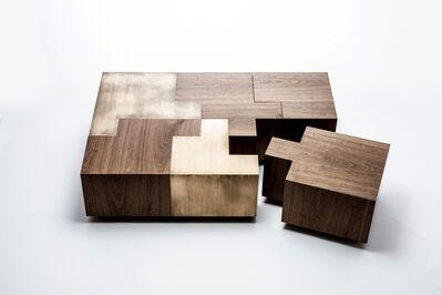 Gulla Jonsdottir, 'Black Walnut Puzzle Table', 2019