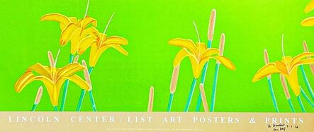 Alex Katz, 'Day Lilies (Hand Signed and Inscribed)', 1992