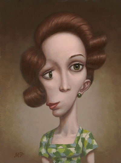 Marion Peck, 'Lady in Green'