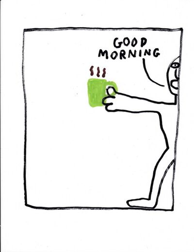 Jim Torok, 'Good Morning (Green Cup)', 2016