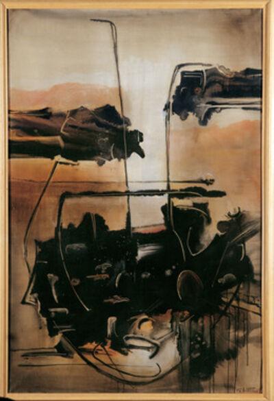 Gianni Bertini, 'Écume de Thétys', 1958