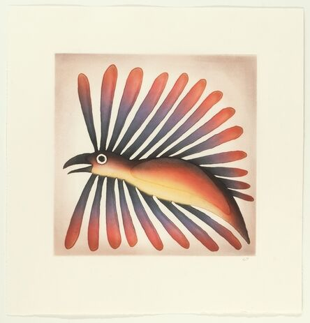 Kenojuak Ashevak, 'Fine Feathers', 2013