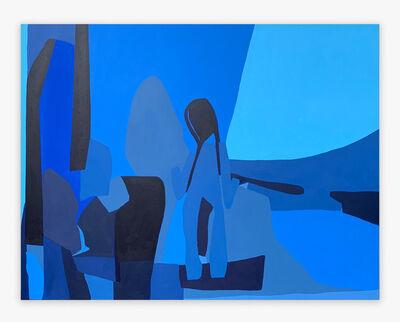 Paola López Guerra, 'Contemplacion en Azul', 2021
