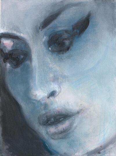 Marlene Dumas, 'Amy - Blue', 2011