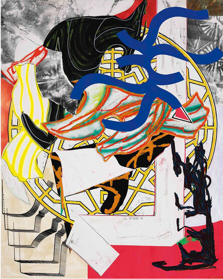 Frank Stella, 'The Hyena from Waves II', 1985-89