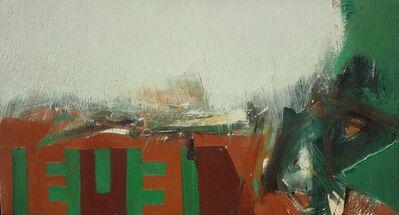 Budd Hopkins, 'E Horizontal', 1964