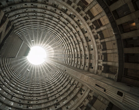 Mikhael Subotzky & Patrick Waterhouse, 'Looking up the core 2, Ponte City', 2010