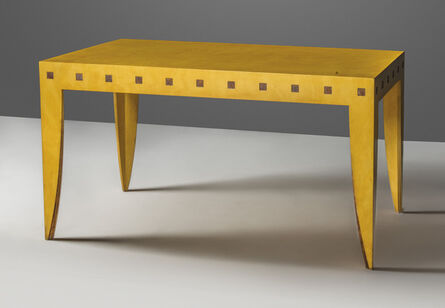 Charles Jencks, 'A unique centre table', 1985