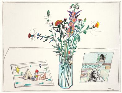 Saul Steinberg, 'Untitled', 1989