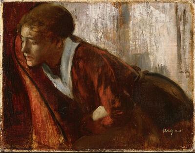 Edgar Degas, 'Melancholy', Late 1860s
