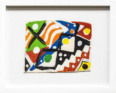 Kim MacConnel, 'Sketch for Volta', 1987