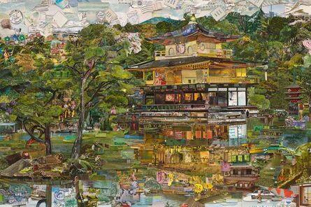Vik Muniz, 'The Golden Temple. Postcard from nowhere', 2015