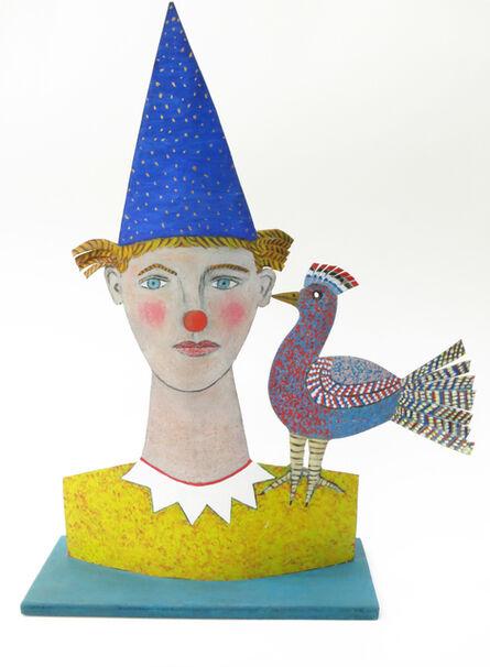 Jean Dessirier, 'Clown à l'oiseau', 2015