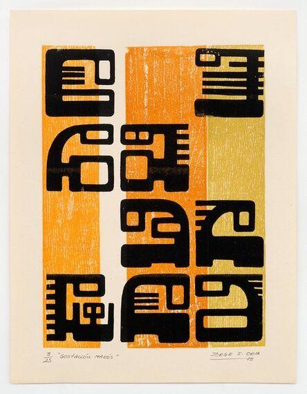 Jorge Orta, 'Gestación Makós', 1970-1979