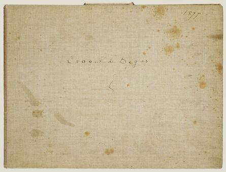 Edgar Degas, 'An Album of Pencil Sketches', 1877