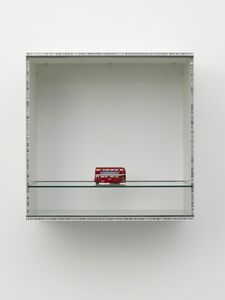 Haim Steinbach, ' Untitled (double decker bus)', 2013