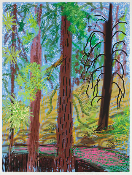 David Hockney, 'Untitled No. 6 from the Yosemite Suite', 2010