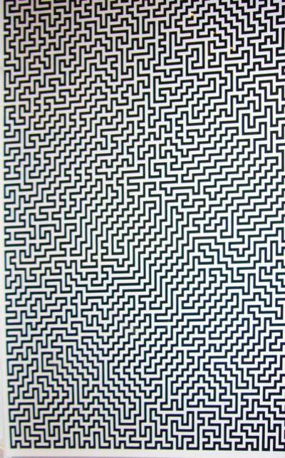 Ignacio Uriarte, 'Single-Line Labyrinths 3', 2007