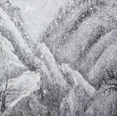 Yang Yongliang 杨泳梁, 'Vanishing Landscape - Snowy Mountains #3', 2017