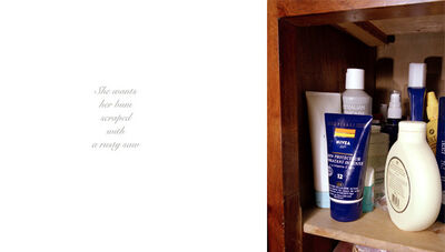 Anna Fox, 'My Mother's Cupboards and My Father's Words (02)', 1999