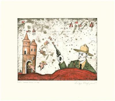 Enrique Chagoya, 'Border Patrol On Acid', 2007