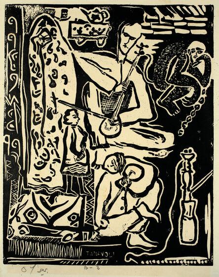 Parviz Tanavoli, 'Pedlar', 1959