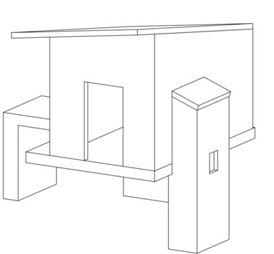 Giuseppe Gallo, 'project for Galleria no 5'