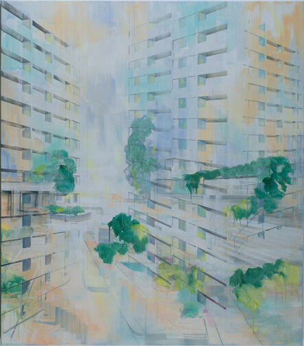 Driss Ouadahi, 'Rond-point', 2016